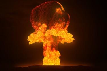 Bombardeo nuclear en Huelva, año 2087
